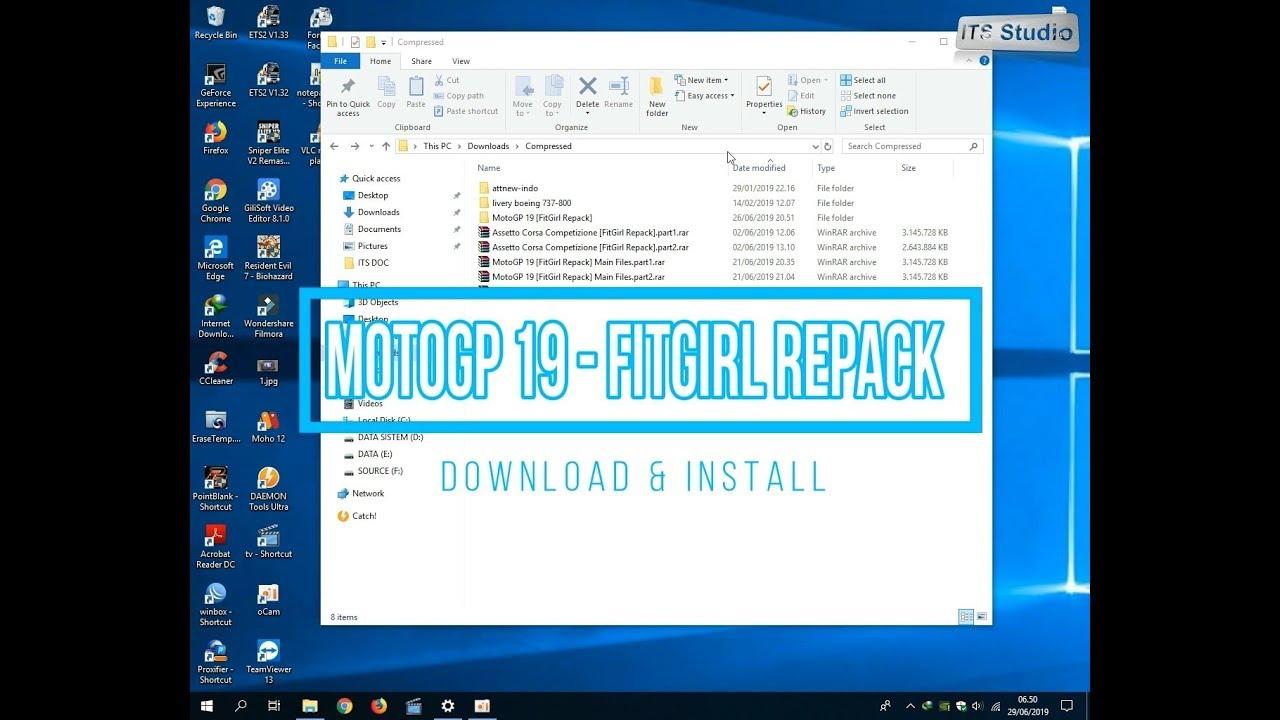 Download PC Game MotoGP™19 - Repack High Compress [FitGirl] 8 3 GB -  Tutorial PC