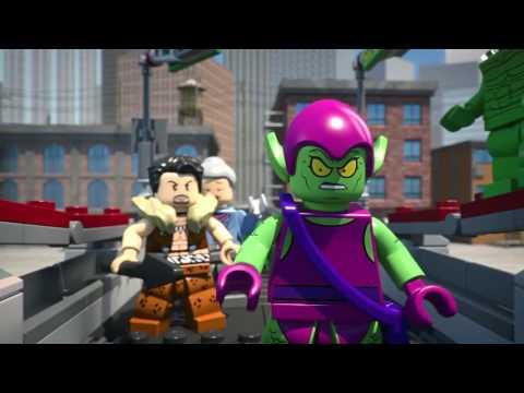 Lego 76057 Super Heroes Человек-паук: Последний бой воинов паутины. Обзор LEGO