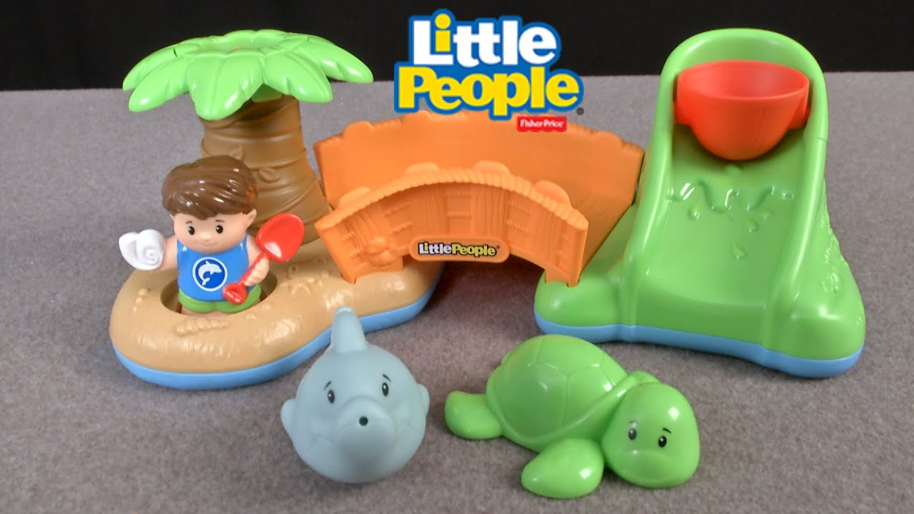 Little People Spill \'n Surprise Island from Fisher-Price - YouTube
