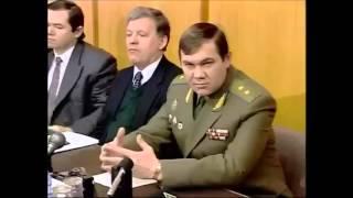 ГЕНЕРАЛ А.И. ЛЕБЕДЬ и РАЗВАЛ РОССИИ.