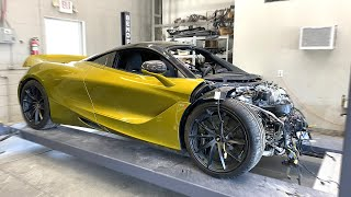 Tearing Down My McLaren 720s (HIDDEN DAMAGE?) - Episode 2