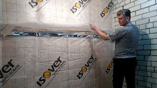 видео Экономичный утеплитель для дома из кирпича и пеноблоков