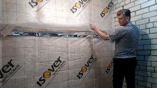 видео Утепление стен