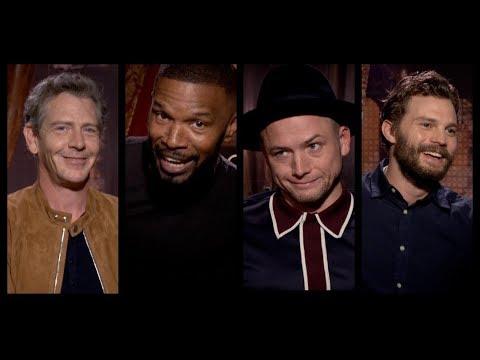 ROBIN HOOD Hilarious Cast Interviews: Taron Egerton, Jamie Foxx, Jamie Dornan, Ben Mendelsohn