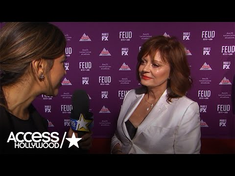 Susan Sarandon Clarifies Her 'Sexual Orientation Is Up For Grabs' Comment | Access Hollywood