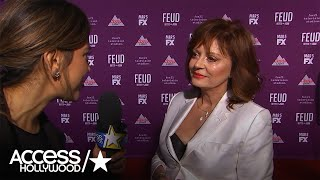 Susan Sarandon Clarifies Her 'Sexual Orientation Is Up For Grabs' Comment   Access Hollywood