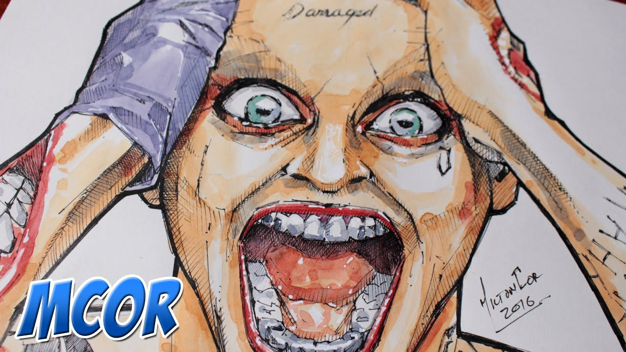 Dibujando a Joker de Suicide Squad  YouTube