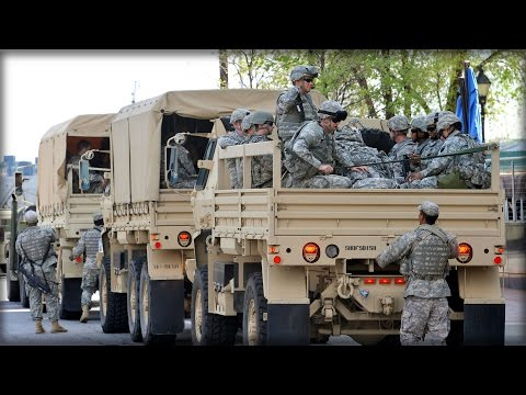 BREAKING: THE NATIONAL GUARD JUST ARRIVED IN CHARLOTTE TO LAY DOWN THE LAW!!