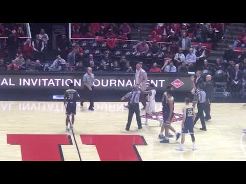 Watch: Utah's Larry Krystkowiak, coach of LSU's next NIT opponent, get tossed from Wednesday's game