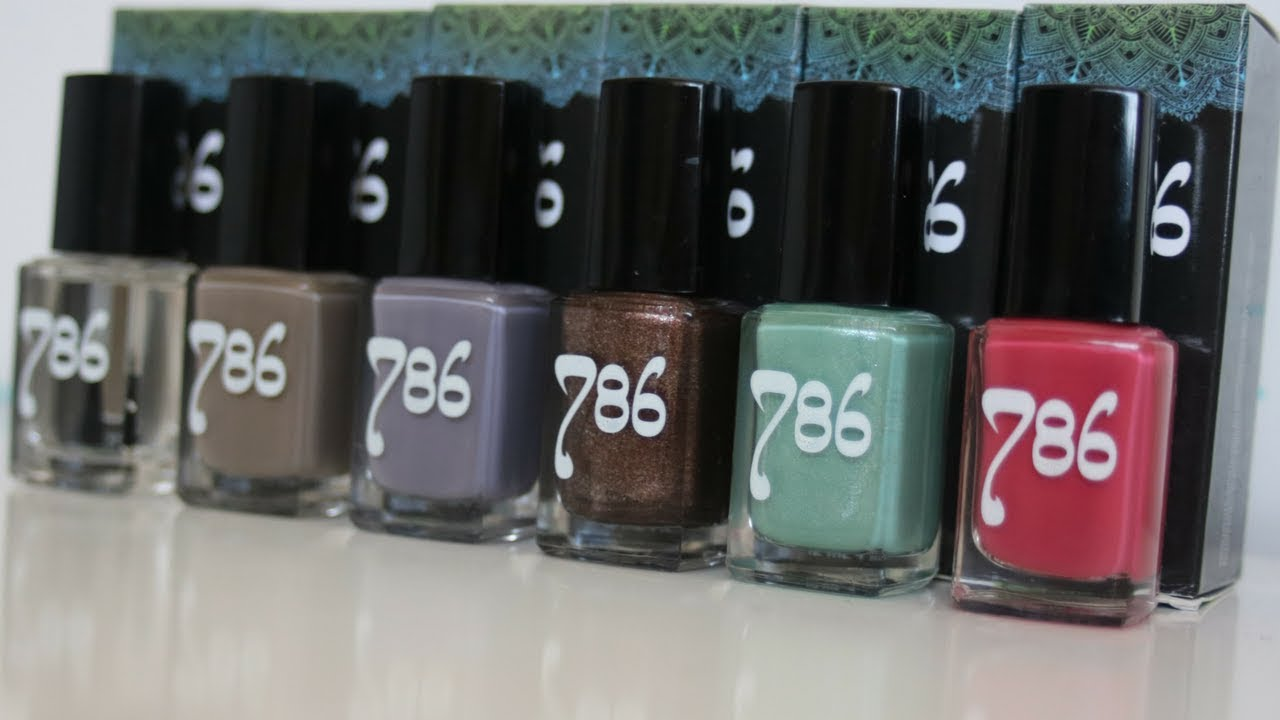 HALAL NAIL POLISH BY 786 REVIEW + BREATHABILITY TEST || Aysha Begum ...