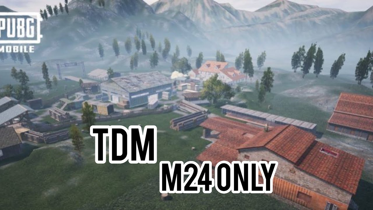 TDM M24 ONLY |PUBG MOBILE|ABGAMING - YouTube