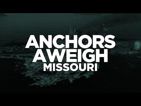 World of Warships - Anchors Aweigh Missouri