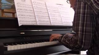 Bernard Herrmann- Marnie prélude (piano solo)