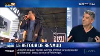 Le Retour de Renaud 22 octobre 2015 Bfm Didier Varrod en Direct