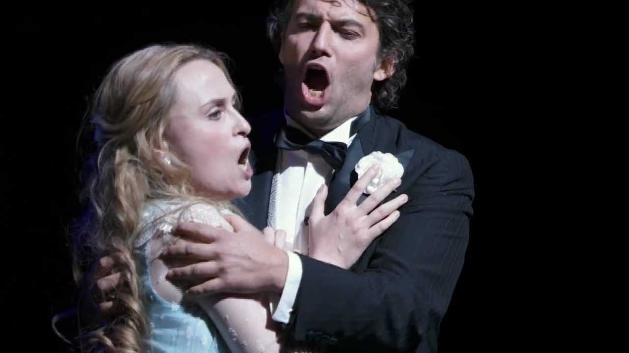 Faust: Love Duet excerpt -- Jonas Kaufmann & Marina Poplavskaya (Met Opera)