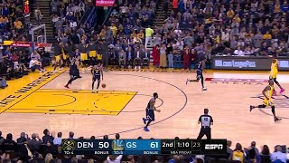 2nd Quarter, One Box Video: Golden State Warriors vs. Denver Nuggets
