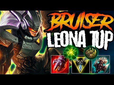 200 IQ BRUISER LEONA BUILD CAN CARRY GAMES - Off Meta Monday - Bruiser Leona Top - League Of Legends
