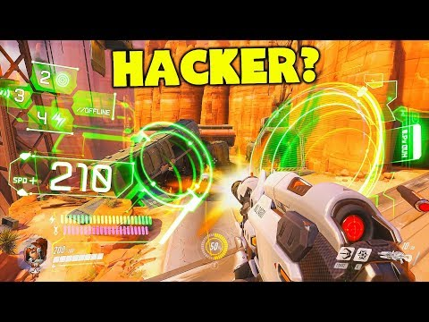 Overwatch God Makes It Look Like He's HACKING?! (He's Not) - Overwatch Funny Moments & Best Plays 82