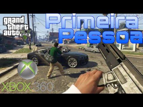 """TUTORIAL: """"PRIMEIRA PESSOA GTA V XBOX360"""""""