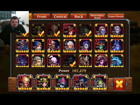 Heroes Charge - how to - Chapter 21 - Live Server - No Vip Heroes