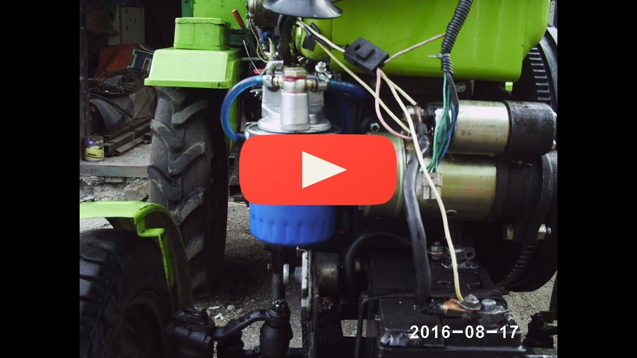 Замена топливного фильтра  Опель Зафира 2,0DTI