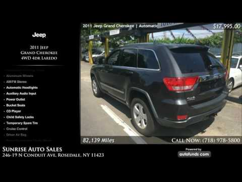 Used 2011 Jeep Grand Cherokee | Sunrise Auto Sales, Rosedale, NY - SOLD