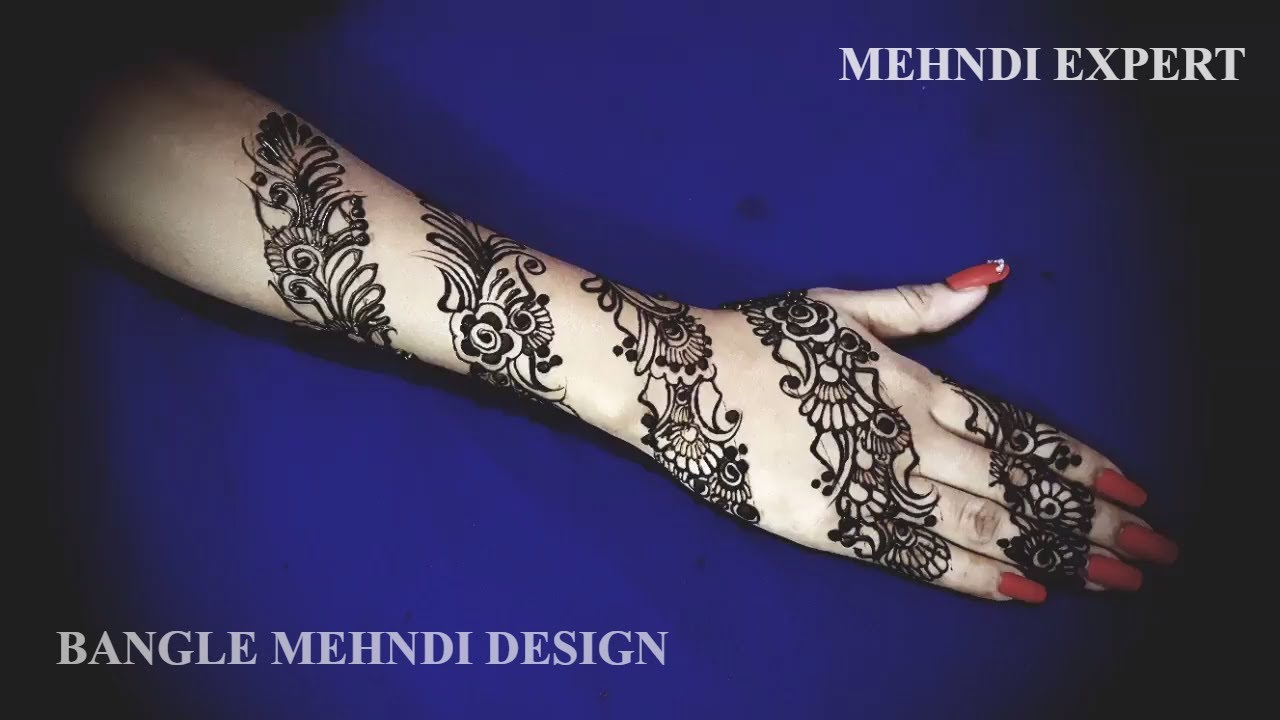 Mehndi Designs Roll : New bangal style mehndi or henna design ☆ step by