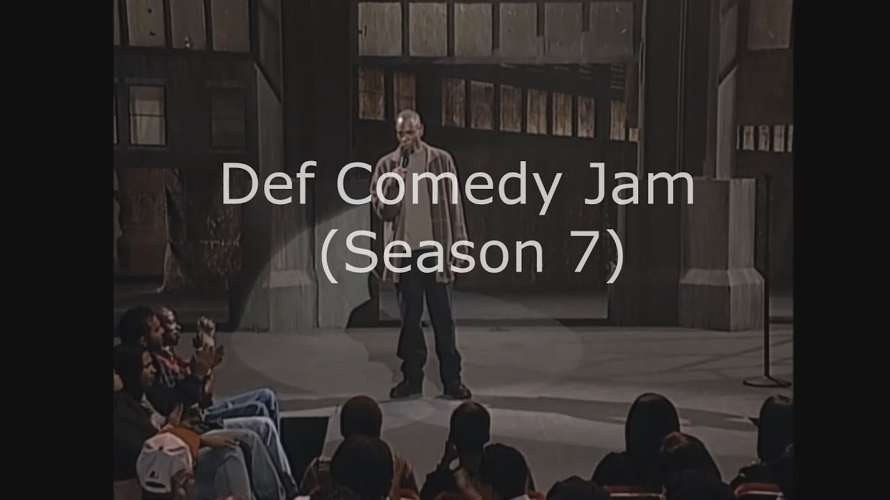 Def Comedy Jam (Season 7 ) Dave Chappelle
