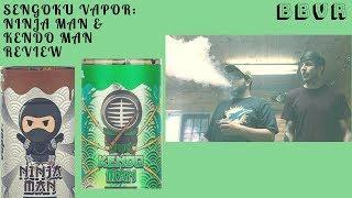 Sengoku Vapor: Ninja Man & Kendo Man Review ($9.99/bottle)