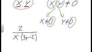 Podmínky řešitelnosti lomených výrazů