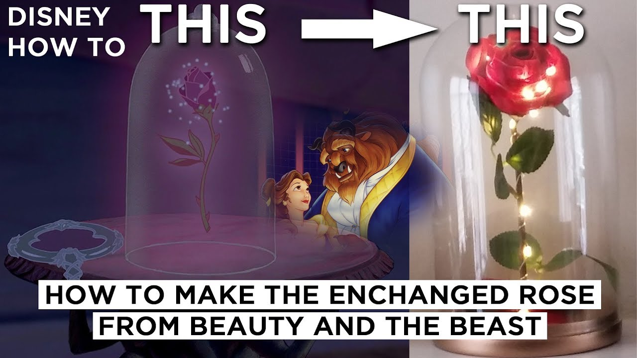 Enchanted Rose DIY Movie Prop from Disney's Beauty and The ...