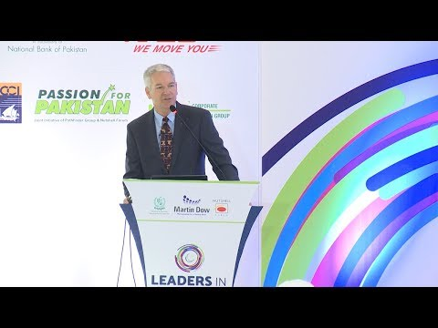 Talk by Siemens's SEVP Middle East Jeff Dunlap @ LEADERS IN ISLAMABAD