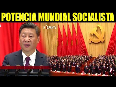 Ultimas noticias, CHINA QUIERE SER MEGAPOTENCIA MUNDIAL 18/10/2017