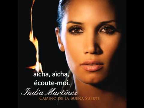AICHA con letra (India Martínez)