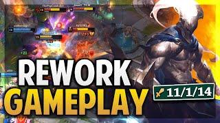 ¡GAMEPLAY PANTHEON REWORK! ESTO SERA GOD TIER | League of Legends