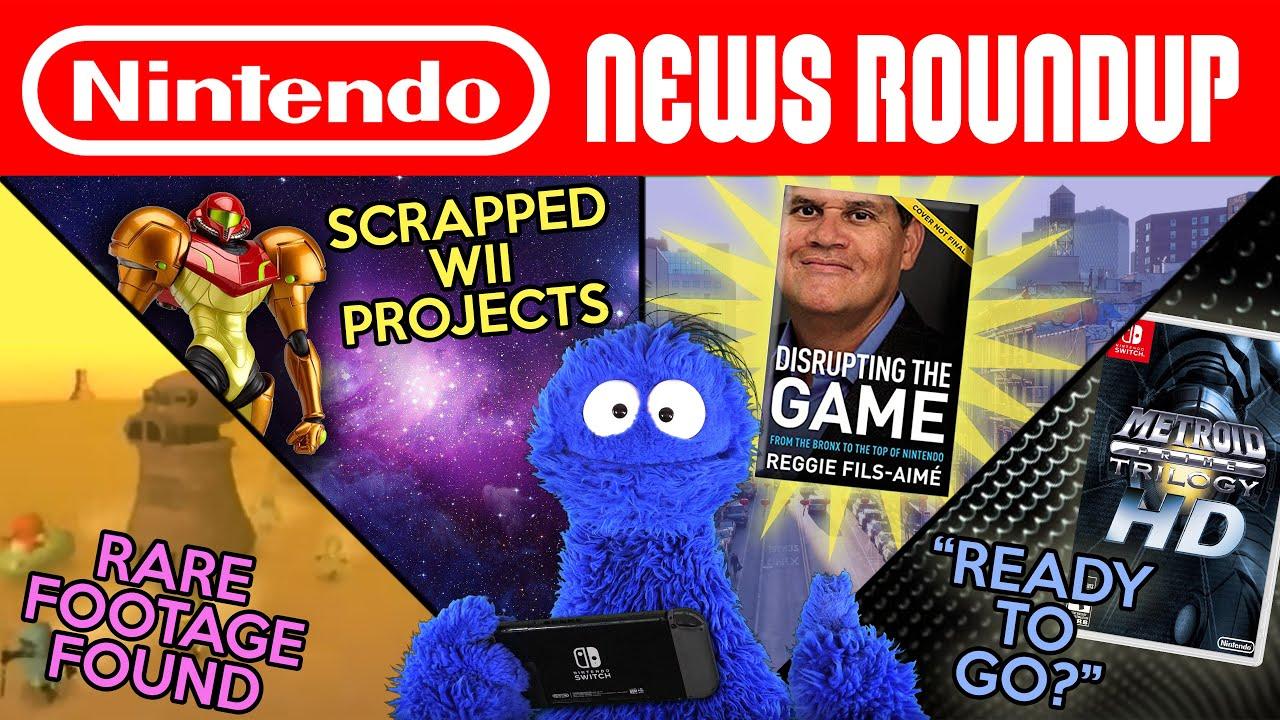 Earthbound 64 Footage, Reggie Book, Intelligent Systems Metroid? | NINTENDO NEWS ROUNDUP