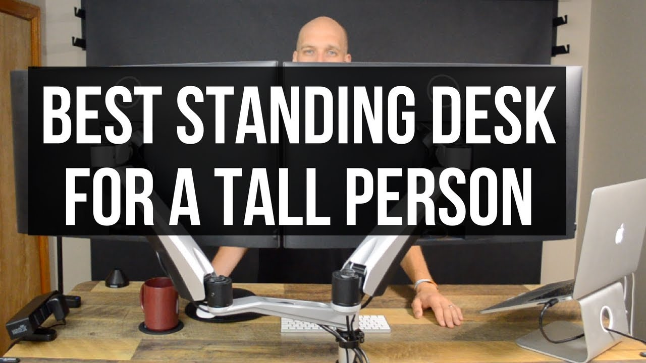 Best standing desk for tall person varidesk prodesk 60 electric