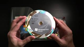 Unboxing Windows Vista Ultimate Edition in 2017