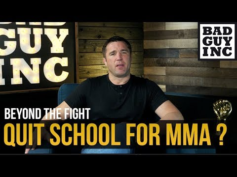 Should you drop out of school to pursue MMA?