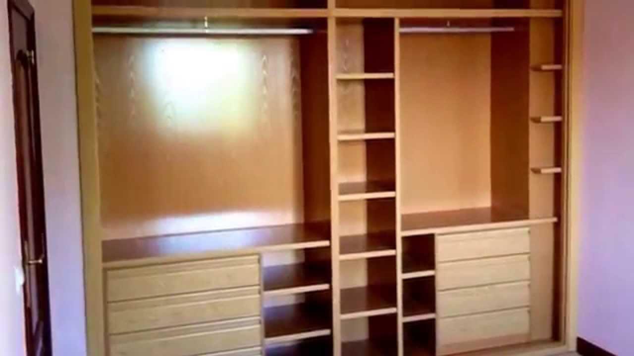 Armarios empotrados armarios a medida youtube for Papel para forrar armarios empotrados