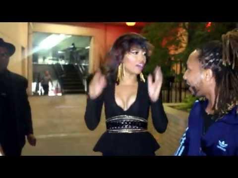 Shamari Devoe of Blaque singing