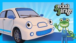 Electric Cars For Children | Gecko's Garage | Cars For Kids