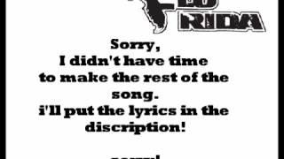 Flo Rida - Whistle Karaoke With lyrics