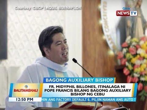 BT: Fr. Midyphil Billones, itinalaga ni Pope Francis bilang bagong Auxiliary Bishop ng Cebu