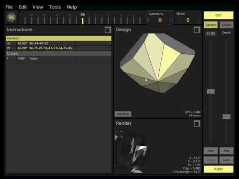 Gem Cut Studio - Cutting Facets