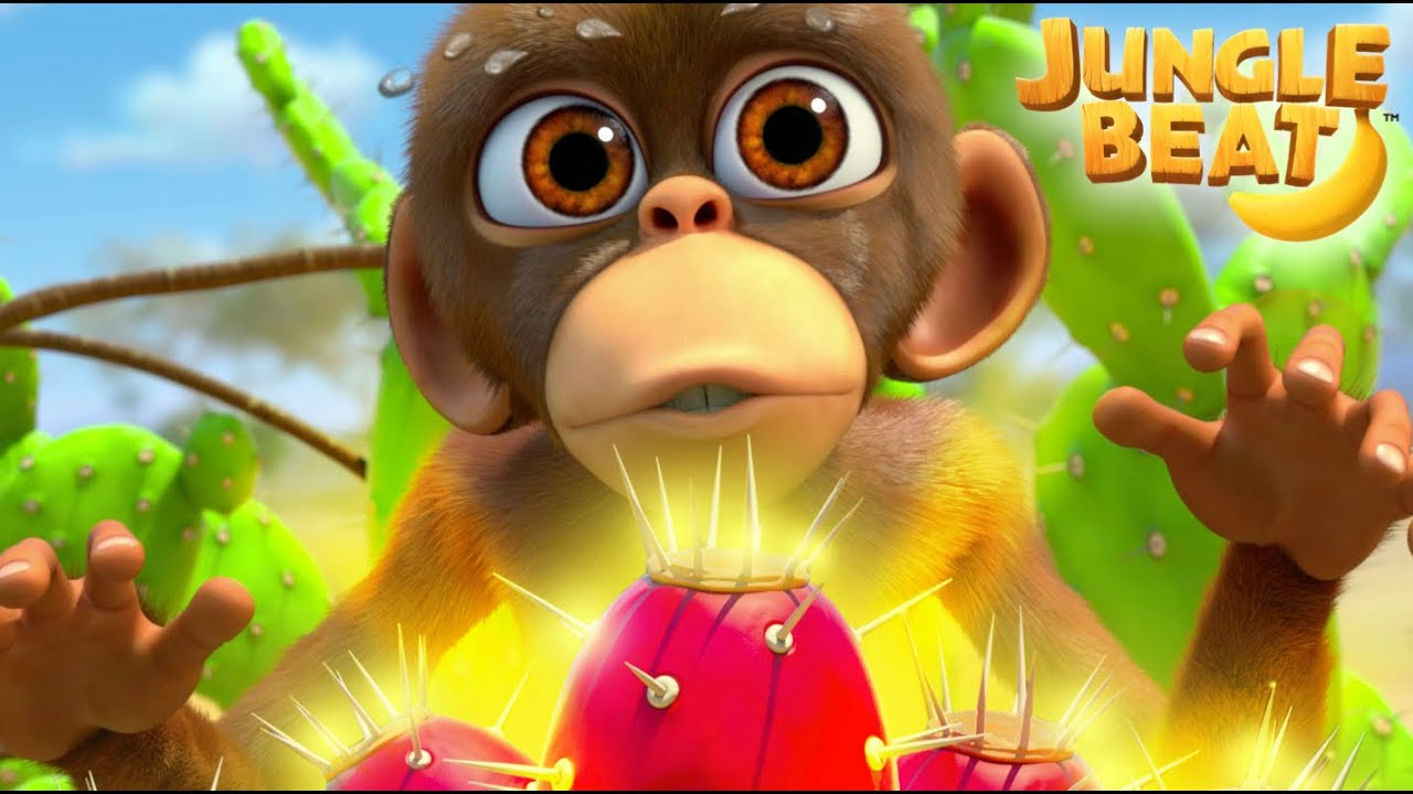 🍐PRICKLY SITUATION🍐| Jungle Beat NEW Episode! | VIDEOS and CARTOONS FOR KIDS 2021