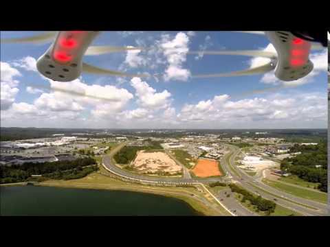 "DJI Drone ""Tiger Spice"" Bonita Lakes Meridian, Mississippi"
