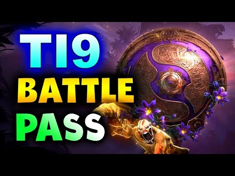 TI9 BATTLE PASS - THE INTERNATIONAL 2019 COMPENDIUM DOTA 2