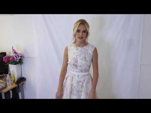 Britains Got Talent LIVE FINAL - Amanda Holden's dressing room