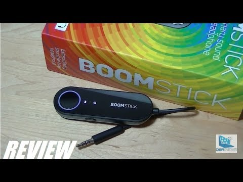 REVIEW: Boomstick Portable Amp / DAC for Phones?!